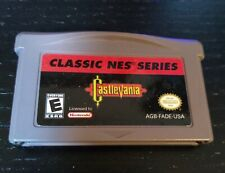 Classic NES Series Castlevania Nintendo Game Boy Advance Cart Only Great Cond