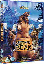 BROTHER BEAR DVD WALT DISNEY CLASSICS 43rd ANIMATED MOVIE UK REGION 2 NEW