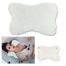 1 X Soft Cloth Bath Pillow Spa Hot Tub Soft Support Neck Relax Lounge Cushion