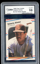 1988 Roberto Alomar Fleer Update Glossy Rookie Gem Mint 10 #U122