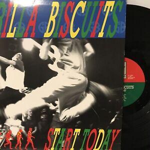 Gorilla Biscuits – Start Today LP 1989 Revelation Records – Revelation:12 VG+/VG