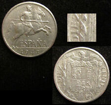 *GUTSE* FRANCO-1039, 10 CÉNTIMOS 1941, PLVS con V, ESCASA, EBC-