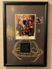 Star Trek Deep Space 9 DS9 Cast 9 Autographed Signed Photo Matted Framed RARE