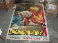 Espionage IN Tokyo Manifesto 2F Original 1957