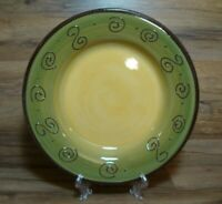 """TABLETOPS UNLIMITED AMBROSIA - 12 7/8"""" - SAGE GREEN LARGE DINNER PLATES"""
