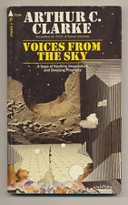 Arthur C Clarke VOICES FROM THE SKY Pyramid T2396 SF Essays Paperback Book 1971