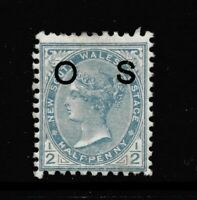 NEW SOUTH WALES OFFICIALS: O58a. MOUNTED MINT.