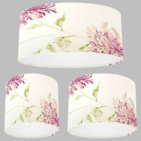 NEW Handmade Lampshade with Laura Ashley Ninette Berry Pink Wallpaper Lamp Shade