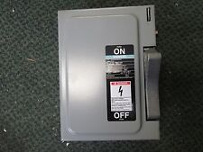 Siemens Non-fused Safety Switch NF351 30A 600V 3P New Surplus