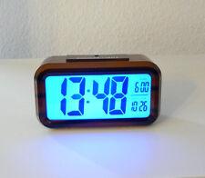 LCD Digitaluhr Wecker Digitalwecker Reisewecker m, Nachtsensor Tischuhr (SH1019)