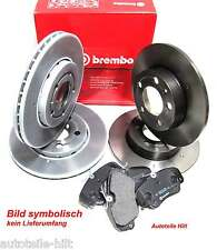 Bremsensatz 2 Bremsscheiben + Beläge SAAB 9-3 Cabriolet 900 II Coupe 2.0 2.3 2.5