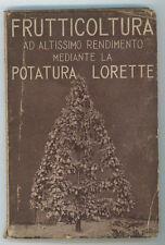 LORETTE LOUIS FRUTTICOLTURA AD ALTISSIMO RENDIMENTO MEDIANTE LA POTATURA 1931