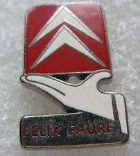 Pin's Marque de Voiture CITROËN Logo Ecusson FELIX FAURE  #D3