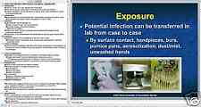 55 page DENTAL LAB INFECTION CONTROL Presentation on CD