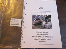 JAGUAR X -TYPE S -TYPE & XK ESTATE TECHNICAL GUIDE BOOK