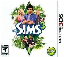 The Sims 3 (Nintendo 3DS, 2011) Brand New - Factory Sealed