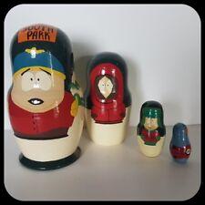 SOUTH PARK Russian Nesting Dolls (4 Of Set) Cartoon Novelty Cartman Kenny Toy