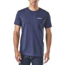 Patagonia MS P-6 Logo Organic T-shirt Classic Navy XL