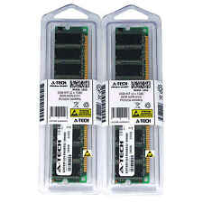 2GB KIT 2 x 1GB DIMM DDR NON-ECC PC3200 400MHz 400 MHz DDR-1 DDR1 2G Ram Memory