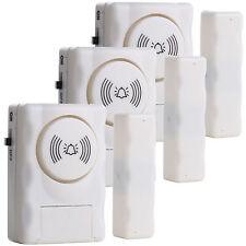 Window Door Home Entry 105db Alarm Magnetic Sensor Security Siren Anti Burglar;