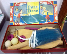 Vintage Table Tennis (ping pong) game, new in box, great retro graphics on box