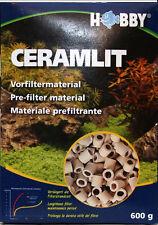 2x 600g=1,2kg HOBBY CERAMLIT Vorfiltermaterial  Verlängert die Filterstandzeit