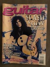 GUITAR FOR THE PRACTICING MUSICIAN MAGAZINE APRIL 1995 SLASH SLAYER VAN HALEN