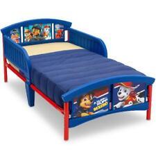 Nick Jr. Paw Patrol Cama de plástico para niños pequeños Azul