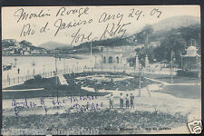 Brazil Postcard - Rio De Janeiro - Avenida Beira-Mar, Jardim Do Palacio  DP321