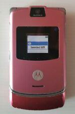 Motorola V3 Razr Pink + auricolare bluetooth pink + caricabatterie + scatola