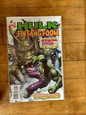 Marvel Hulk #1 Hulk VS. Fin Fang Foom  Unread Condition
