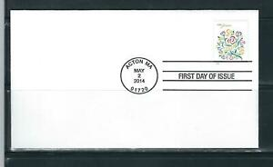 US SC # 4764a Wedding Flowers FDC. Ready For Cachet