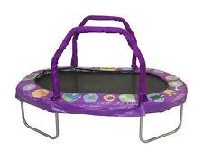 """JK3866PR - JumpKing Mini Oval 38"""" X 66"""" With Purple Pad Ages 6+ Girls"""