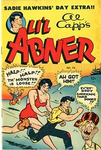 Li'l Abner   # 74     D Copy     FINE+      December 1949      See photos