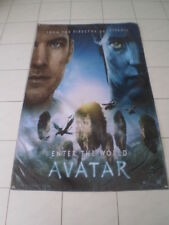 Avatar BANNER Movie Poster 3x5ft. print huge Rare  art decor  2009 James Camero