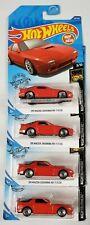 89 Mazda Savanna RX-7 FC35 223 Red 3/10 Nightburnerz 2020 Hot Wheels Lot of 4