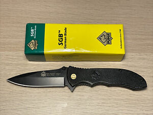 Puma SGB Bobcat 3510 440A German Steel Blade Tactical Folding Knife Discontinued