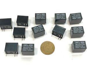 12 Teile JRC-21F 4100 Relais Miniatur PCB Dc 12V 6 Pinnen 220vac 3a A5
