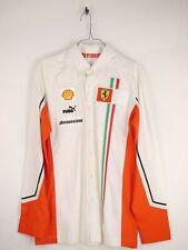Puma Scuderia Ferrari Freizeithemd Hemd Herren Vintage Größe M