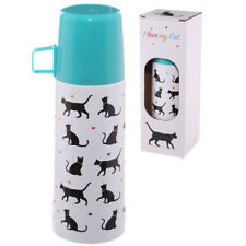 I Love My Cat Stainless Steel 350ml Flask !FREE UK P&P!