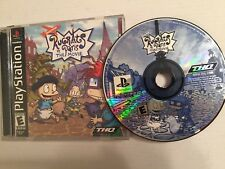 Rugrats in Paris The Movie (Sony Playstation) PS1 Complete.Tested. FREE Shipping