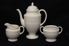 3 Piece Set, Wedgwood of Etruria & Barlaston EDME Teapot, Creamer & Sugar Bowl