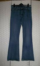 "LEVI""s 609 stretch flare Sz 30 waist 34 leg Long.Fab style & condition.LOOK"