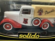 Solido 1/18 Scale - 8000 Ford Pick Up Truck - Becks