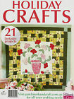HOLIDAY CRAFTS NO 4. MAGAZINE 2014. PATTERN SHEETS ATTACHED.