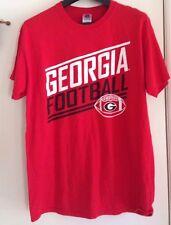 Georgia Bulldogs football t-shirt - game day tees - size L University of Georgia