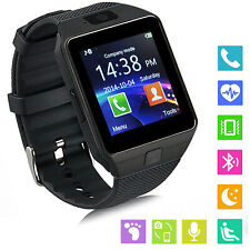 Bluetooth Smart Watch Touch Screen Watch For Samsung Motorola Moto G7 G6 Plus LG