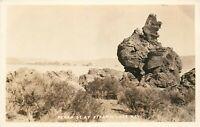 RCCP Postcard NV I494 Pyramids at Pyramid Lake Nev Rock Formations ca1930s