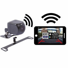 Boyo Vision Vtx400W License Plate or Bracket Mount Backup Camera Viewed by Phone