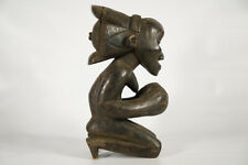 "Master of Buli Inspired Luba Statue 18"" - DRC - African Art"
